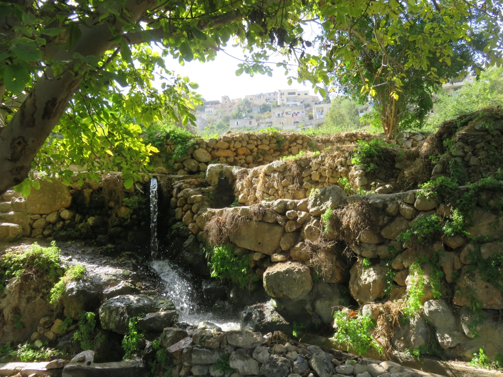 Battir, village labellisé au Patrimoine de l'Humanité. Près de Bethleem.