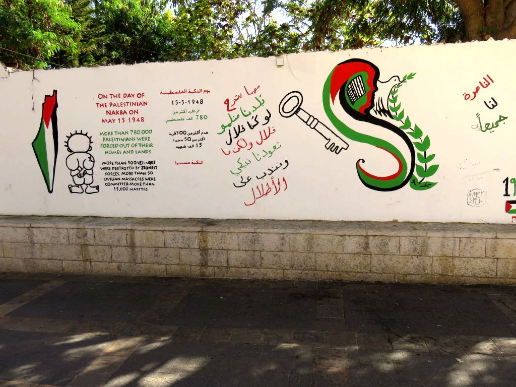 A Nazareth, la mémoire de la Nakba de 1947