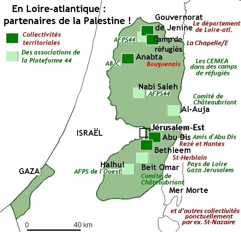Carte collectivites associations