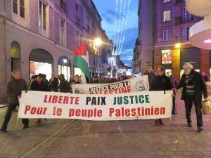 Paix mais aussi justice en Palestine