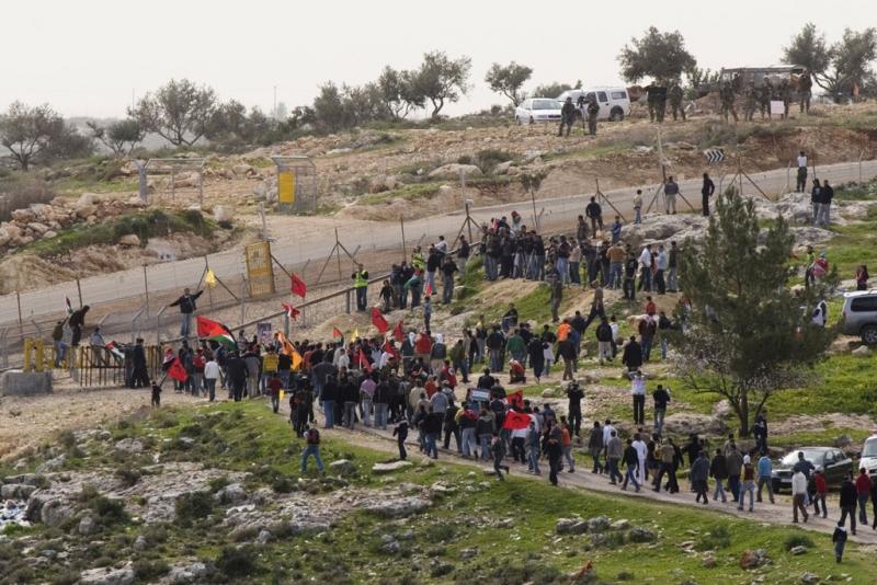 Bi'ilin, la manifestation non-violente du vendredi