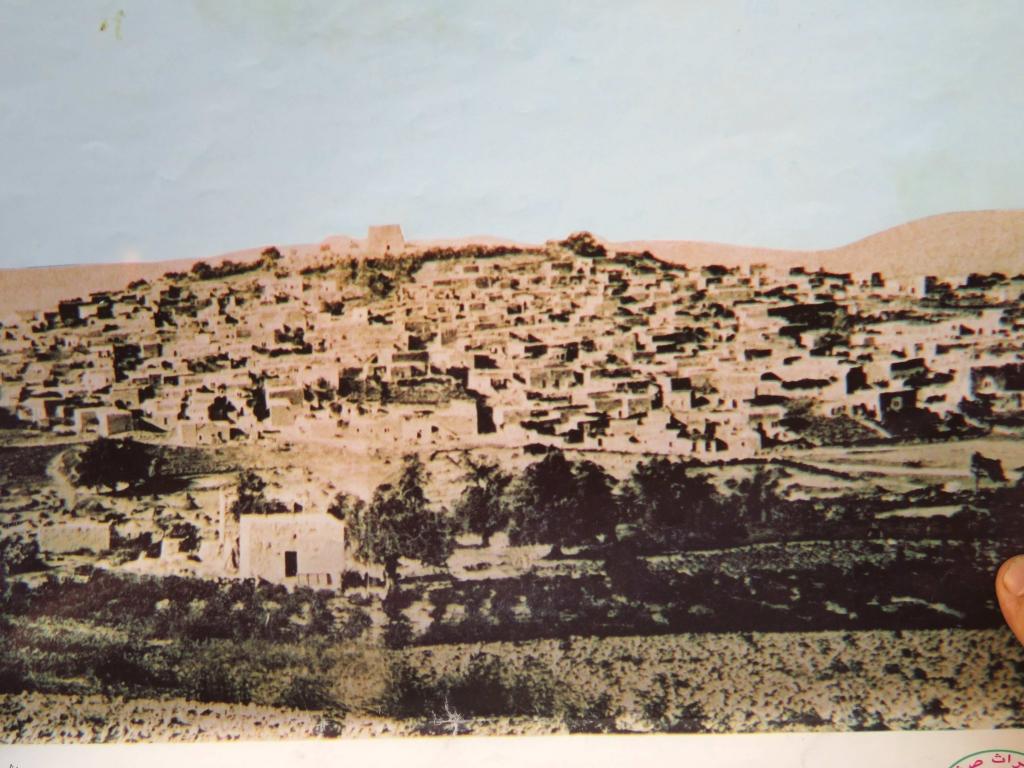 Saffuriyya début 1947 : un gros bourg agricole avant l'expulsion.