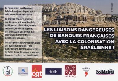 Une de nos actions BDS