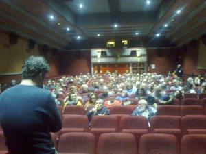 Une salle - Semaine du Film Palestinien