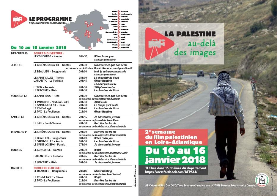 Semaine film palestinien 2018